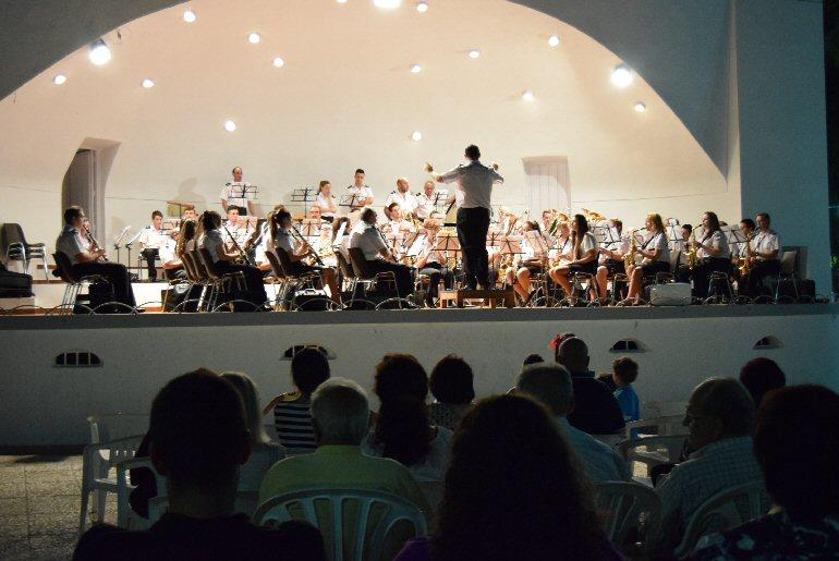 Pozuelo de Calatrava La Agrupación Musical José Gracia Sánchez celebró su Concierto de Verano 01
