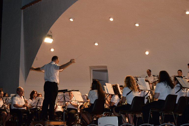 Pozuelo de Calatrava La Agrupación Musical José Gracia Sánchez celebró su Concierto de Verano 02