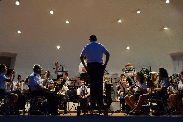 Pozuelo de Calatrava La Agrupación Musical José Gracia Sánchez celebró su Concierto de Verano