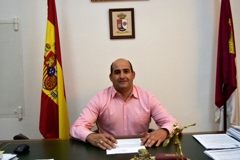 Julián Triguero, Alcalde de Pozuelo de Calatrava