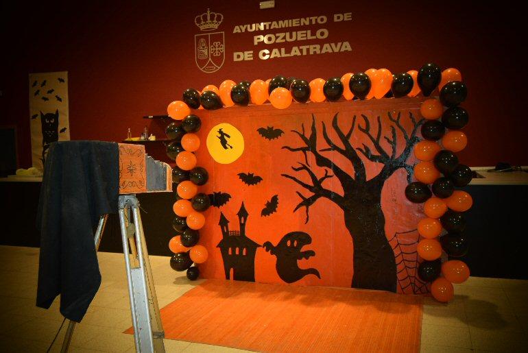 Pozuelo de Calatrava Terroríficamente Divertida la Fiesta de Halloween que organizó el AMPA Ricardo Rivas