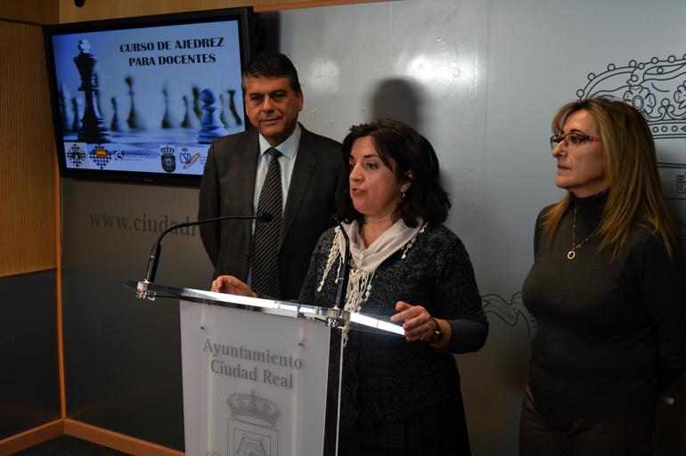 Ciudad real comienza el curso de ajedrez para docentes el - Cursos de cocina en ciudad real ...