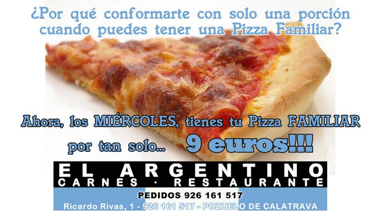 Anuncio Oferta Pizza