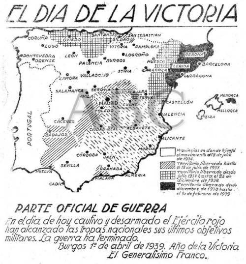 uno de abril 1939