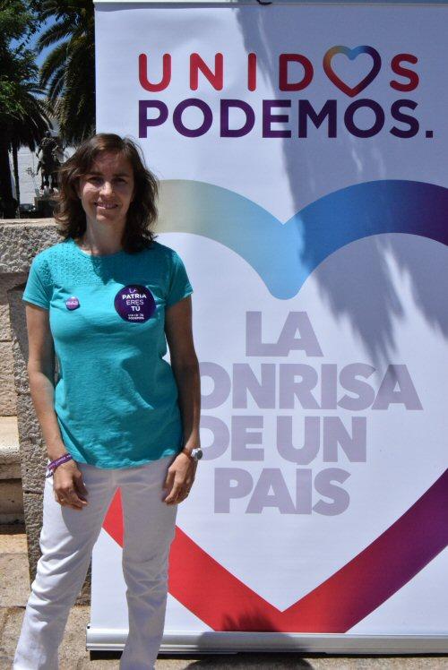 Ana Belén Jiménez Cuadra, candidata num 2 al Congreso por Ciudad Real por Unidos Podemos