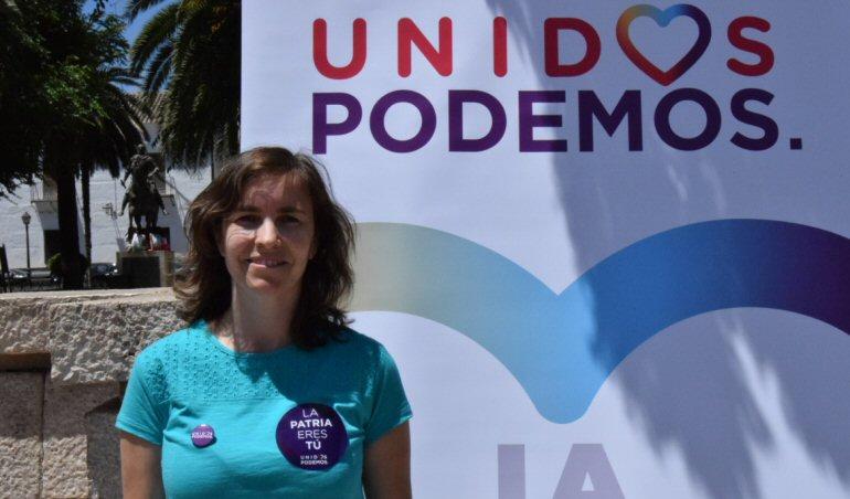 Entrevista a... Ana Belén Jiménez, candidata al congreso por Unidos Podemos Venimos a barrer la corrupción y a levantar las alfombras