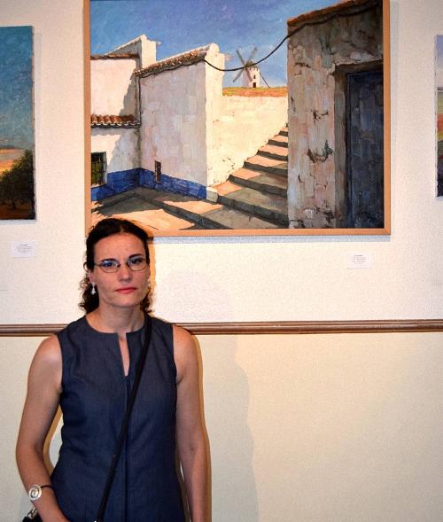 Pozuelo de Calatrava Exposición de Alicia Madroñero Galindo Los Paisajes que nos Rodean