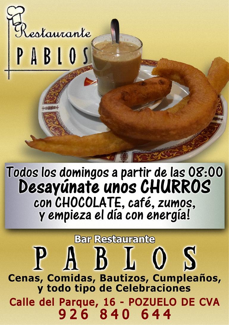 CHURROS PABLOS 770