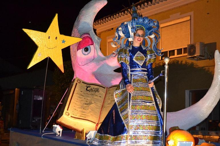 Las Peñuelas consiguen un cuarto premio en el Desfile del Día del Ofertorio del Carnaval 2017 de Herencia