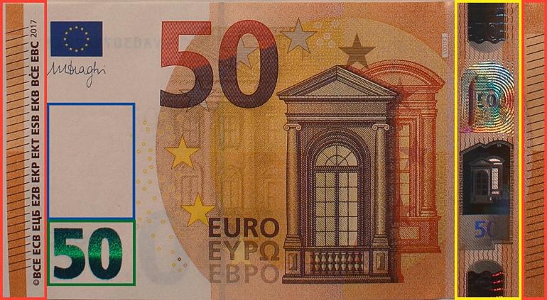 billete nuevo 50 euros cara a