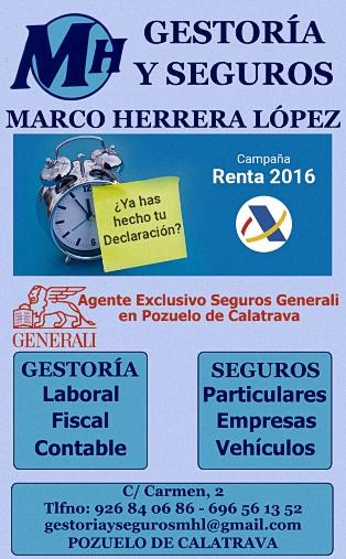 Gestoría Laboral, Fiscal y Contable - Seguros a Particulares, Empresas y Vehículos - Carmen, 2 - 696 56 13 52 - POZUELO DE CALATRAVA