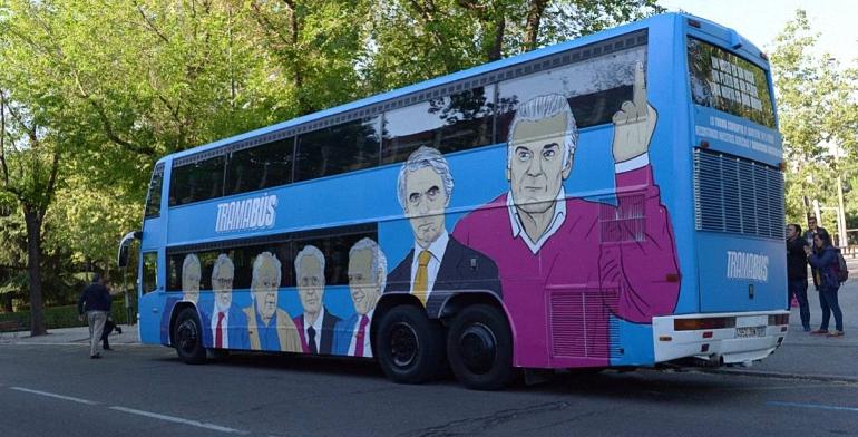 El Tramabús de Podemos visitará el Aeropuerto de Ciudad Real