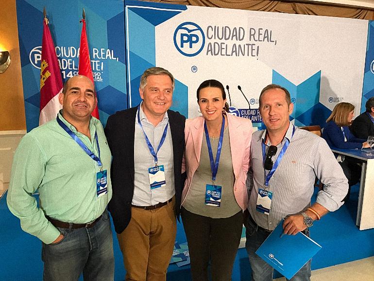 Pozuelo de Calatrava Julián Triguero ha sido nombrado Secretario de Industria y Energía en el último Congreso provincial del PP
