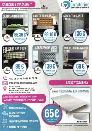 Top Dormitorios - Pozuelo de Calatrava