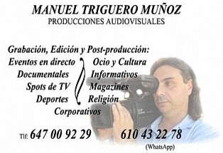 Manuel Triguero - Producciones Audiovisuales