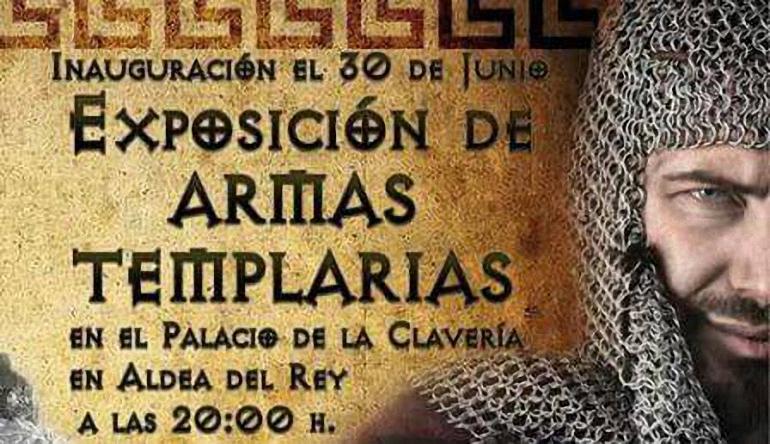 Aldea del Rey El Palacio de Claveria inaugura dos exposiciones este viernes, una dedicada a las armas medievales y otra al Colegio de Guardias Jóvenes