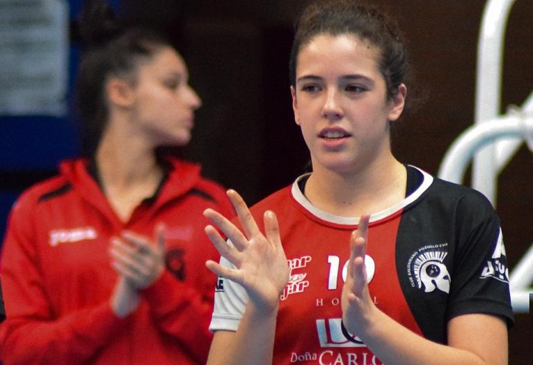 Cristina Lopez jugadora del Club Balonmano Pozuelo de Calatrava