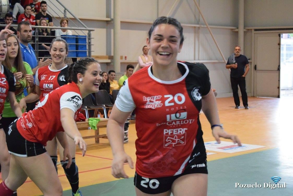 El BM Pozuelo se refuerza con dos nuevas renovaciones María Montoro y Sara García