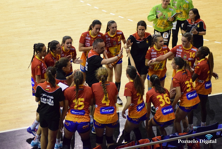 Amistoso España Rusia Selección Juvenil Femenina Quijote Arena Ciudad Real