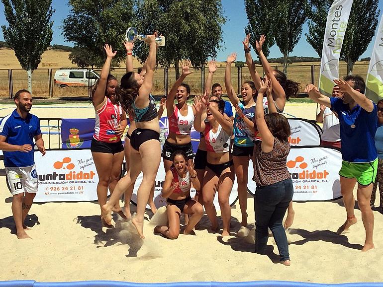 BM Playa Ciudad Real Juvenil Femenino Campeon Arena 500