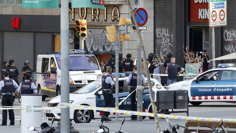 El terrorismo yihadista golpea España