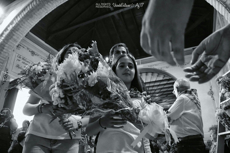 Ofrenda Floral a Ntra. Sra. La Virgen de los Santos patrona de Pozuelo de Calatrava