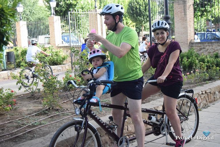Pozuelo de Calatrava El Día de la Bicicleta, pedales para toda la familia