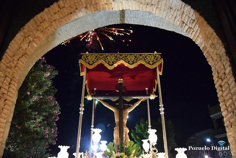 Pozuelo de Calatrava un año más celebraron la festividad del Stmo. Cristo de la Misericordia