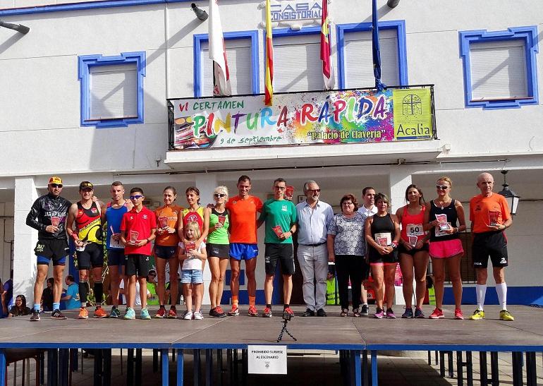 Aldea del Rey Más de 150 participantes en la V Edición de la Carrera Popular