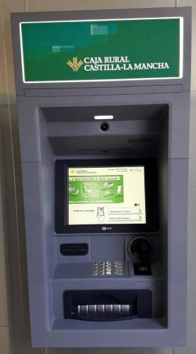 Cajero Automatico Servired de Caja Rural de Castilla La Mancha