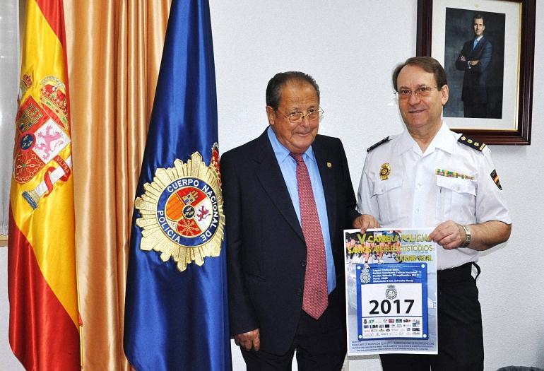 Ciudad Real La Policía Nacional celebra la V Carrera Policial Solidaria con motivo de su patrón los Santos Ángeles Custodios