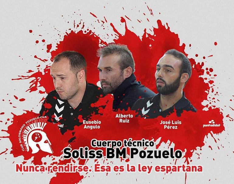 Cuadro Técnico del Soliss BM Pozuelo temporada 2017-2018