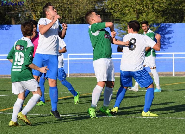 El Pozuelo CF Juvenil comenzó la competición oficial el pasado sábado frente al UD Carrión