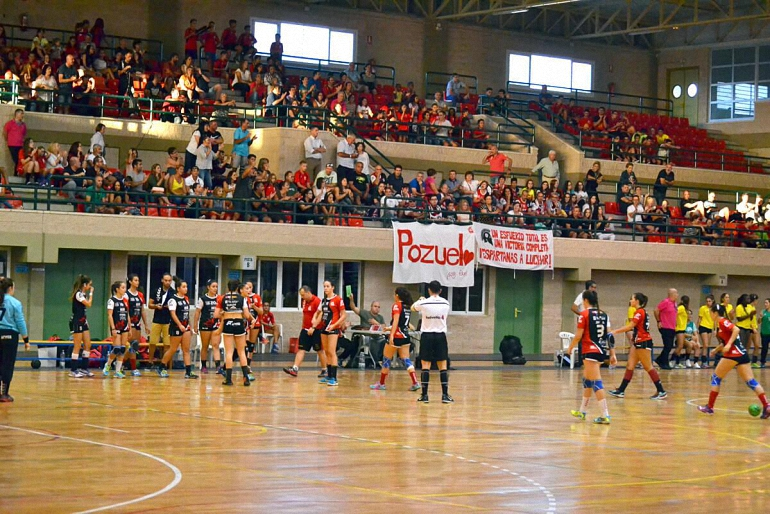 El Soliss BM Pozuelo se deja dos puntos en Roquetas