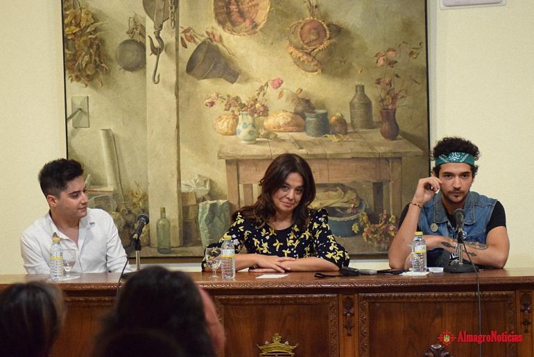 Maldito Bastardo fue presentado en Ciudad Real por Quique Montero en su lucha contra la violencia de género