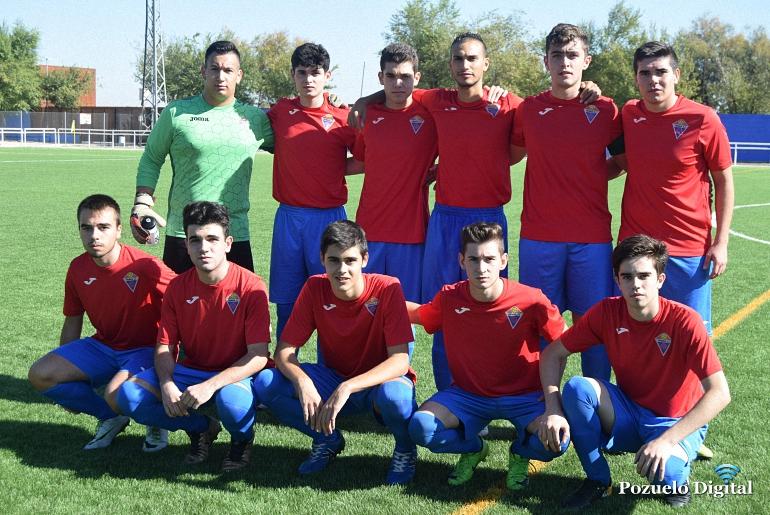 El Pozuelo CF Juvenil suma su primer punto en liga frente al Almagro CF