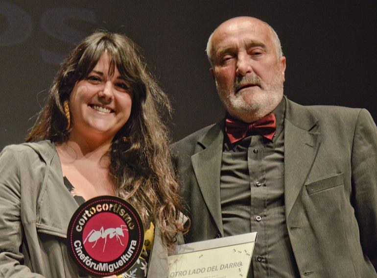 Miguelturra La miguelturreña Paula Fernández Carrasco se alzó con el galardón del V Festival de Cortometrajes Corto Cortismo