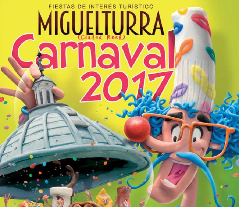 Miguelturra abre el plazo de presentación para el Certamen del Cartel Anunciador del Carnaval 2018