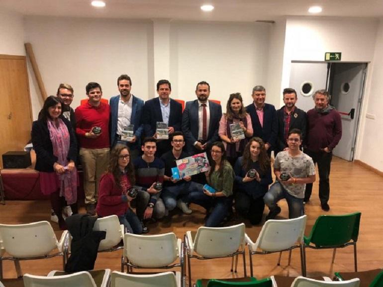 Bolaños La Junta hizo entrega de los premios del concurso de spots para la promoción del Carné Joven Europeo