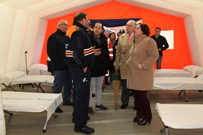 Campo de Calatrava Varias Agrupaciones de Voluntarios de Protección Civil de nuestra comarca reciben equipamiento de la Junta de Comunidades