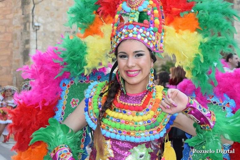Desfile de Carrozas y Comparsas Carnaval Pozuelo de Calatrava