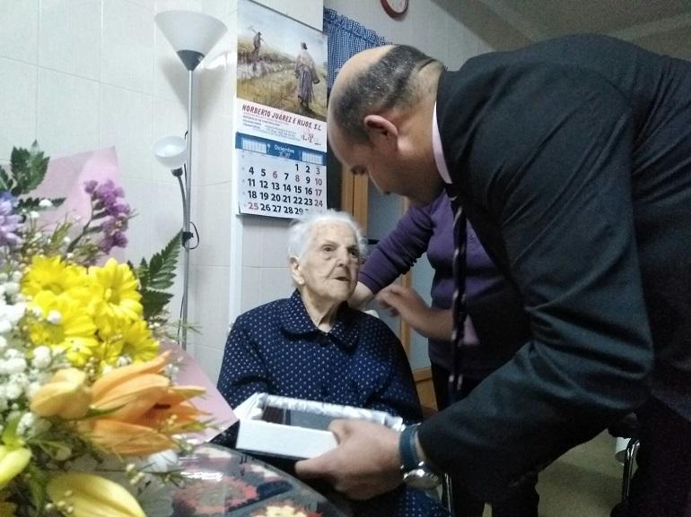 Homenaje a los vecinos más longevos del municipio