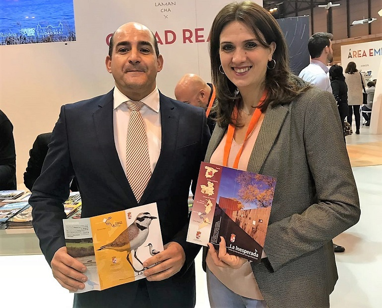 Julián Triguero y Azucena Hervás en FITUR 2018