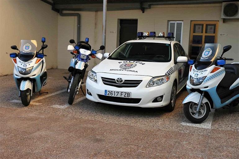 Miguelturra La Policía Local inicia una campaña de vigilancia de las condiciones de los vehículos del 15 al 21 de enero