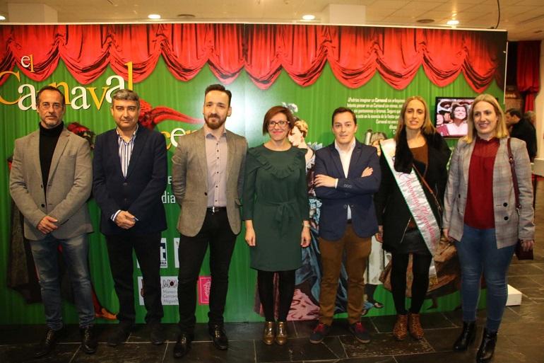 Miguelturra inauguró la exposición El Carnaval a escena Tipos de la Comedia del Arte, que estará expuesta en el CERE hasta el 18 de marzo
