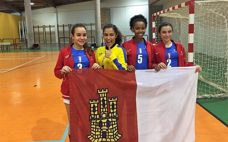 Pozuelo de Calatrava Cuatro Espartanas Infantil Femenino se proclaman Subcampeonas de España