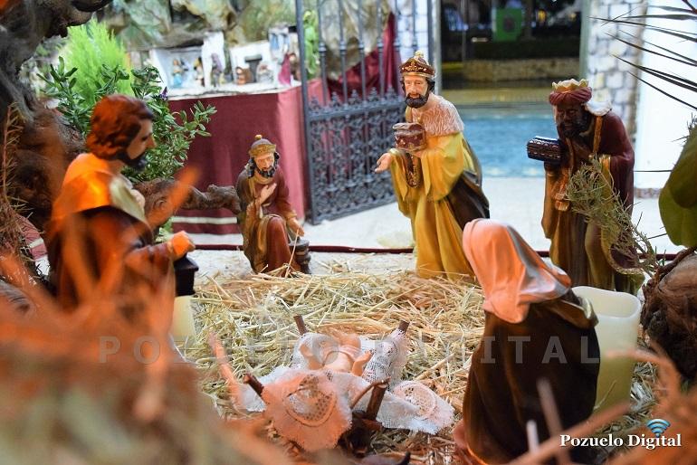 Pozuelo de Calatrava El Belén Municipal preside las fiestas navideñas pozueleñas