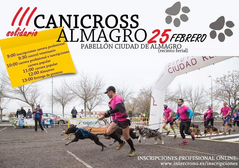 Almagro La Asociación Protectora APASA organiza el III Canicross Solidario el 25 de febrero