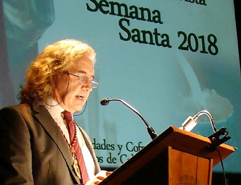 Bolaños presentó su cartel de la Semana Santa 2018