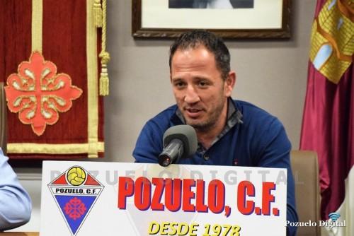 Presentación nuevo entrenador Pozuelo CF005